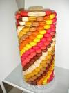 colonne polystyrène à macarons