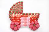 décor pour bonbon en polystyrène