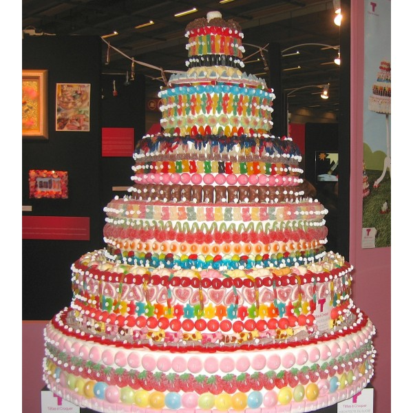 Wedding Cake Factice