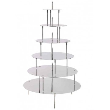 PRESENTOIR INOX POUR WEDDING CAKE