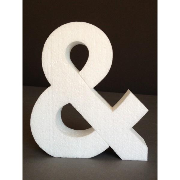 Lettres et chiffres polystyrène