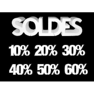 Lettrage Soldes et Remises %