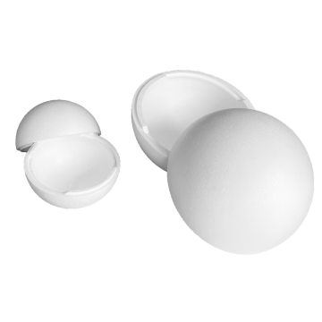 Sphères polystyrène creuses