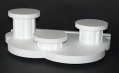 Socle gateau polystyrene